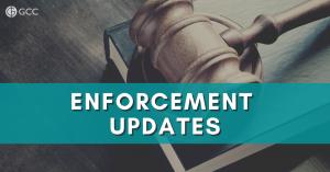 enforcement update