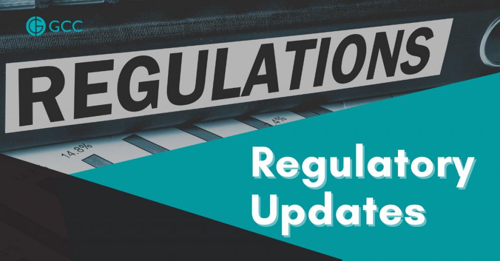 regulatory update